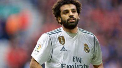 محمد صلاح ريال مدريد