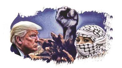 أمريكا وفلسيطين
