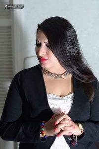 الفنانة شيرين العمدة