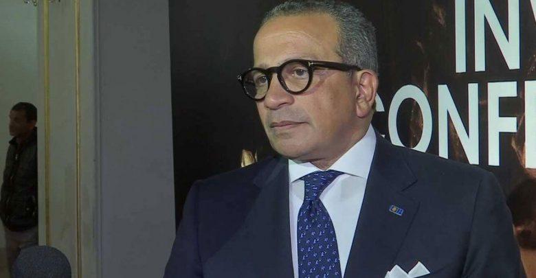 عمرو الجنايني رئيس اتحاد الكرة