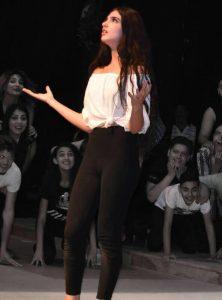 الممثلة السورية جويل معلا