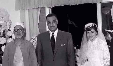 جمال عبدالناصر جوار عروسة
